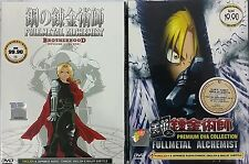 DVD Anime Fullmetal Alchemist Brotherhood Episode 1 - 64 End + OVA English Audio