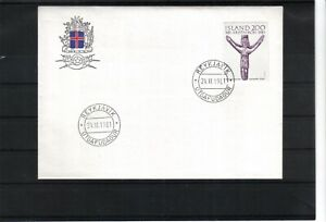 Iceland  1981 Christianity On Iceland  FDC  scan 163
