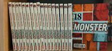 Planet Manga Monster vol. 1/18 Completa Prima edizione Naoki Urasawa!Usata