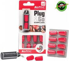 Alpine Plug & Go Motociclismo tapones para los oídos de espuma - 5 pares y contenedor