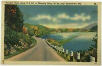 Potomac River Harper's Ferry West Virginia Near Hagerstown Maryland Postcard