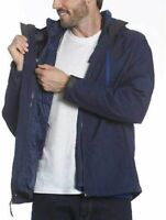 Gerry Men's Tri-sphere Systems 2 in 1 Hooded Jackets Blue L