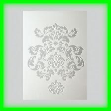 Stencil / Flex- Schablone - Ornament - DIN A5 - 2 teilig - Scrapbooking