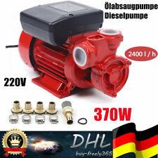 New Fuel Transfer Pump Diesel Gas Gasoline Kerosene 220V 370W Us Stock