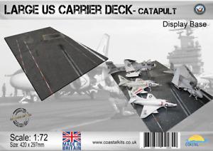 Coastal Kits 1:72 scale Large Carrier Deck - Catapult Display Base