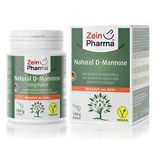 ZeinPharma D-Mannose Pulver 100g aus Birke 100% rein Hergestellt in Deutschland