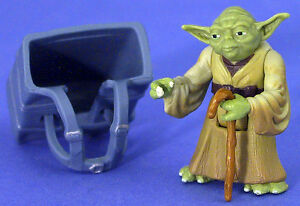STAR WARS LOOSE POTF VERY RARE YODA IN DAGOBAH TRAINING MINT CONDITION. C-10+