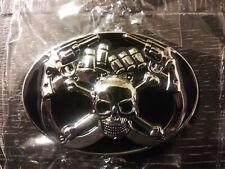 9 New Belt Buckles LOT. Biker, Military, Cowboy, Rock N Roll, Civil War.