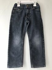 Levi's 511 Jeans Boys Size 5 Reg Dark Wash Adjustable Waist