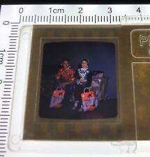 1950's HALLOWEEN COSTUME Treat BAG Stereo Realist Format 3D Stereoscopic Slide 2