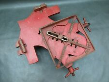 Vintage unusual adjustable picture framing cramp clamp old tool by E M Secker