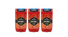 3 PACK, Old Spice Deodorant for Men Swagger, Confidence & Amberwood 3 OZ Each