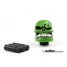 Universal Manual Operation Car Gear Shift Knob Shifter Lever Resin Skull Gren CA