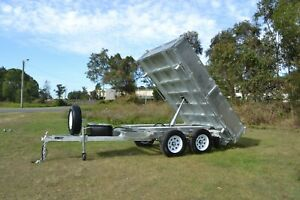 10x6 - 3 Way Tipping Trailer - Hot Dipped Gal 3500kg rated