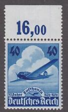 Germany 1936  #469 10 Anniversary of the Lufthansa Air Service - MNH