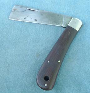 Vintage Kabar Sheepsfoot Folding Knife Rigging Bosun's Mate