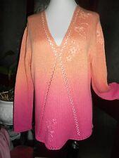 "Apriori Beautiful Tie-Dye Effect Fancy stitch Jumper  size XL 40"" **NEW**"