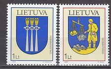 LITHUANIA  2005 **MNH SC# 788-789 Coat of Arms