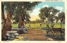 Roswell New Mexico Cahoon Park Scenic View Antique Postcard K78380