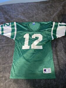 Men's Vintage Champion NFL New York Jets Joe Namath Football Jersey Size 40