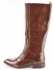 Xpress Lane Womens Leather Casual Fall German Sole Boots SZ 6 Cocoa Bean