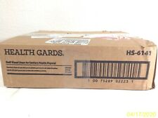 NEW Health Gards HS-6141 Waxed Papers Liners Sanitary Napkin Box Of 250