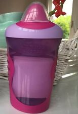 Tommee Tippee Explora Easy Drink Beaker Pink Cup Non Spill 7+ Easy Clean Valve
