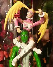 """R. MIKA*PINK VARIANT*Sota Toys Street Fighter 6"""" Figure Marvel Legends vs Capcom"""