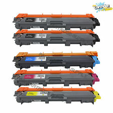 5Pk TN221 BK TN225 Color Toner For Brother MFC-9130CW, MFC-9330CDW, MFC-9340CDW