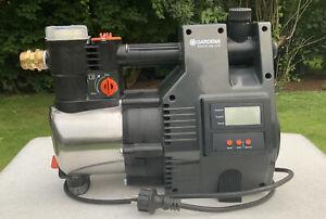 Gardena Hauswasserautomat 6000/5 Inox LCD - BJ 2014 - Sehr Guter Zustand