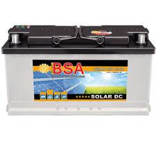 BSA Solarbatterie 12V 120Ah Wohnmobil Versorgungsbatterie Solar Batterie 100AH