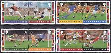 Guernsey 1996 EUAFA Football Championships England Set UM SG696-703 Cat £6.00