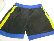 Continental Mens Large Swimming Trunk Shorts Blue Yellow Black