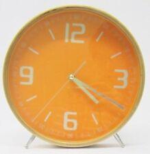 Relojes de pared redonda de color principal naranja