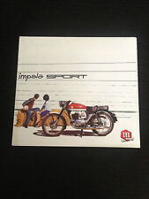 MONTESA IMPALA SPORT 175 MOTO SPAIN SPANISH BROCHURE PROSPEKT CATALOGO CATALOGUE