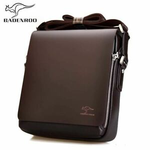 Badenroo Brand Leather Male Bags Fashion Men Shoulder Bags Business Briefcase