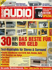 AUDIO 04/03 April 2003 / Testmagazin HiFi Zeitschrift / B&W,Onkyo,T+A,Denon uvm.