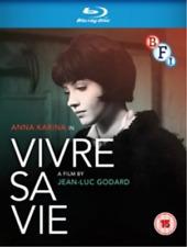 Vivre SA Vie 5035673012147 With Anna Karina Blu-ray Region B