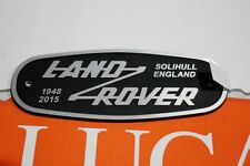 New Genuine Land Rover Defender HERITAGE limited edition REAR BADGE 90 110 1948