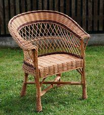 Naturel Chaise fauteuil à ACCOUDOIRS pour jardin Conservation vivant