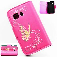 Wallet Pouch Flip Leather Holder Cover Case For Samsung Galaxy Young 2 SM-G130