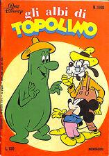 [749] GLI ALBI DI TOPOLINO ed. Mondadori 1977 n.  1199 stato Ottimo