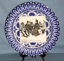 Royal Doulton Transferware Historical Plate 'Failing To Find Rest & Quiet.