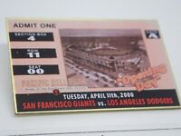 San Francisco Giants Pacific Bell Park Opening Day 2000 Vintage Lapel Pin
