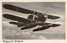 AK Mehrzweck - Flugzeug Schwimmflugzeug Echte Fotographie