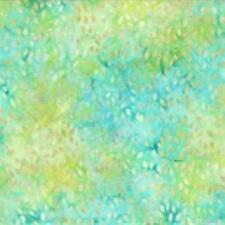 BATAVIAN BATIKS TOSSED SEEDS ELECTRIC GREEN WILMINGTON COTTON QUILT FABRIC