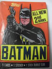 Unopened Pack 1989 Batman Series 2 Movie Cards ~ Michael Keaton Jack Nicholson