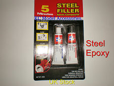 Epoxy Glue For Steel 2 Part Quick Set 5 Minute.
