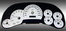 2003-2005 CHEVY GMC 2500 3500 W TRANS GAUGE DAYTONA EDITION GAUGE FACE WHITE NEW