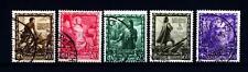 ITALIA - Regno - 1938 - Proclamazione dell'Impero - 10c. 20c. 25c. 60c. 50c.